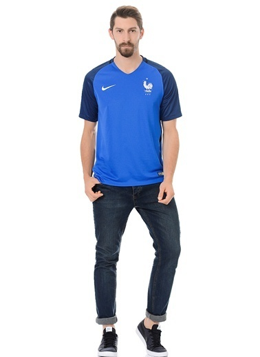 V Yaka Tişört   Fransa-Nike